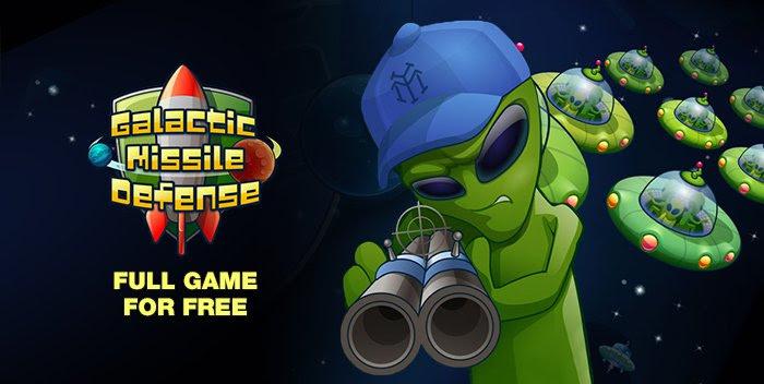 Galactic Missile Defense gratis download @ Indiegala