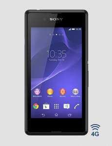 Sony Xperia E3 zwart of wit voor €99 @ Phone House