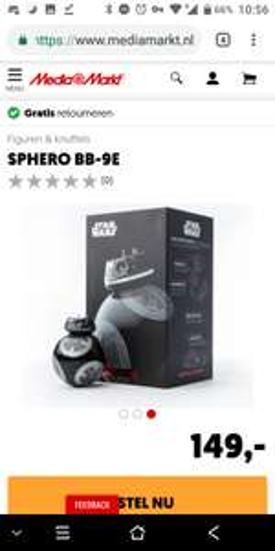 Sphero Bestuurbare Star Wars Droid