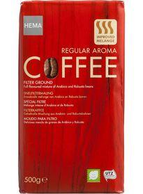 filterkoffie 2 voor 5,50 bij HEMA  (1 kilo)