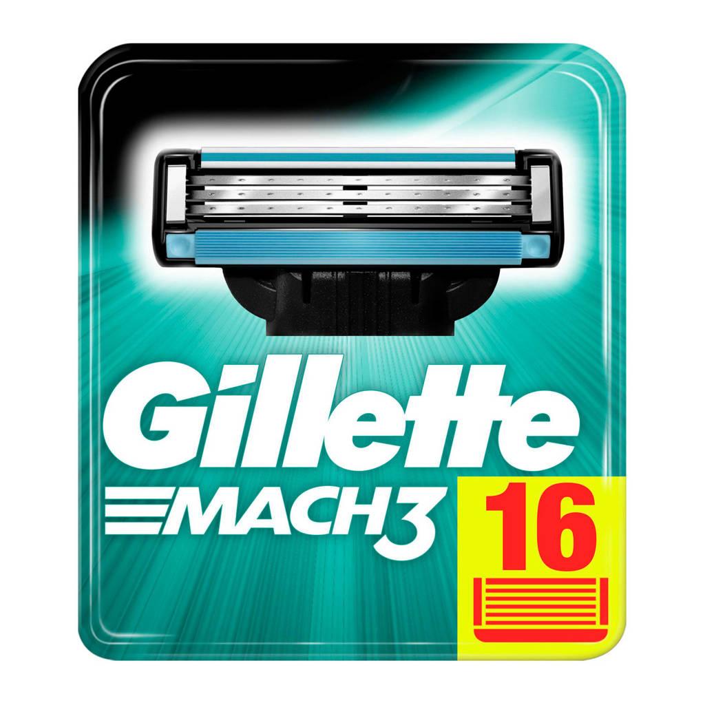 Gillette Mach3 - 16 scheermesjes €19.50 @ Wehkamp
