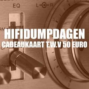 Cadeaubon van €50,- voor €40,- @HiFi Corner