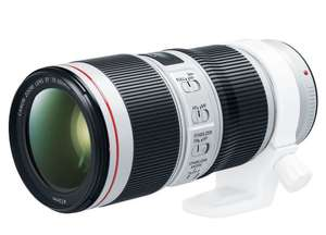 Canon EF 70-200MM F/4L IS II USM voor €799 (-€500) @ Cameraland