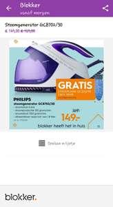 Philips stoomgenerator GC8702/30 van 169,- naar 149,- met gratis strijkplank twv 99,-