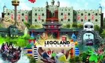 Familieticket voor 1/2 dagen LEGOLAND Billund (DK) voor 3-5 personen @ Groupon