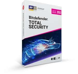 Gratis Bitdefender Total Security (levenslang?)