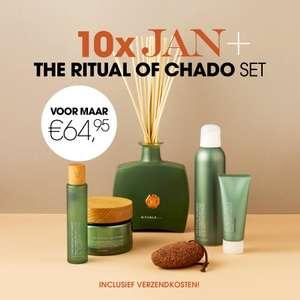 [40% korting] Rituals Chado pakket t.w.v. €106,50 + 10x Jan Magazine/Harpers Bazaar voor €64,95 in totaal