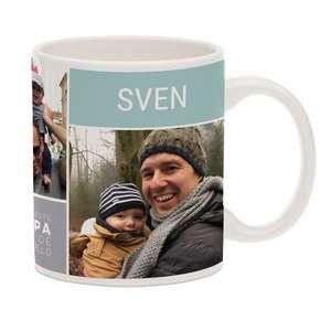 Vaderdag mok met foto en/of naam gepersonaliseerd, @yoursurprise.nl