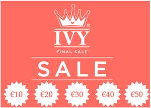 FINAL SALE - dames topmerken vanaf €5 - veel met 70% korting @ Ivy Fashion