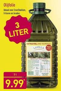 3 liter olijfolie voor 9,99