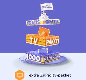 Nu ook Ziggo combineren met Hollandsnieuwe voor extra zenderpakket + 1000 MB/min