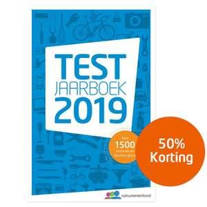 Testjaarboek van de Consumentenbond (e-book) met 50% korting