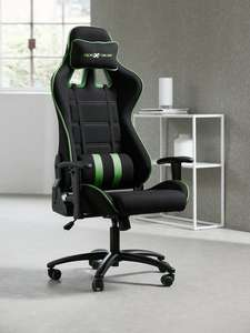 Gamestoel LAMDRUP zwart/groen - Jysk