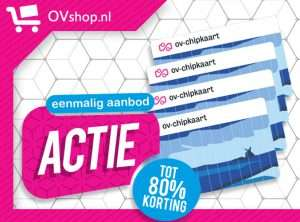 OV Chipkaart 2,95 euro