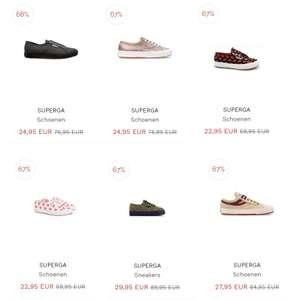 Superga sneakers -67% // -68% @ Miinto