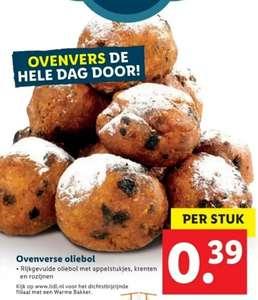 Oliebollen €0,39 per stuk | v.a. 3 okt @Lidl
