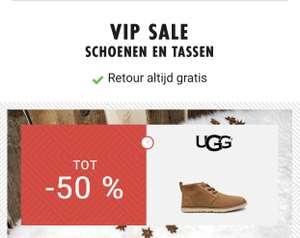 VIP sale. 50% op UGG, Timberlands, Tamaris M/V @Sarenza