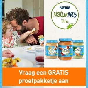 [Amsterdam] Gratis proefpakketje Nestlé NaturNes Bio Babyvoeding @Nestlé