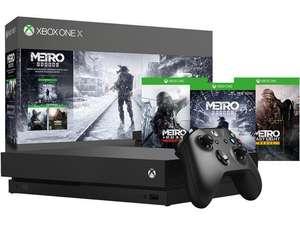 Xbox One X 1TB - Metro Exodus Bundel @ Amazon.de