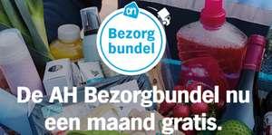 Gratis maand AH bezorgbundel (direct opzegbaar) + €5 + €10 korting @ AH