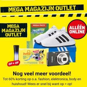 Alléén online: MEGA magazijn outlet tot 60% korting @Kruidvat