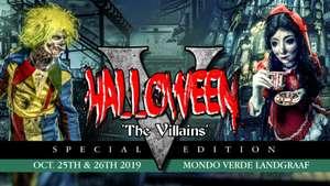 2 tickets Mondo Verde The Villains 5 Special Event voor 20€