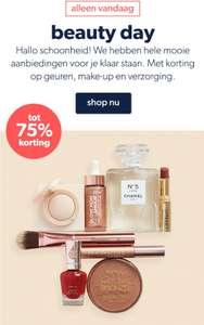 Tot 75% korting op geuren, make-up en verzorging @ Wehkamp