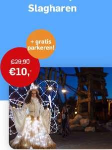 Op 16 of 17 november naar Slagharen voor € 10 p.p inclusief parkeren t.w.v. € 7,50