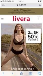 Livera 2e BH voor de helft van de prijs