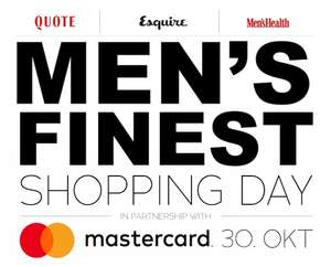 Men's Finest Shopping Day & Vogue Online Shopping Night