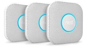 Google Nest Protect - Slimme rook- en koolmonoxidemelder - Met batterij - 3 stuks Bol.com
