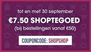 €7.50 shoptegoed bij een bestelling vanaf €50 @ Bagageonline
