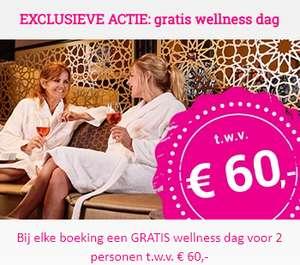 Gratis wellness dag bij boeking in november hotel of vakantiepark