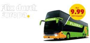 Enkele reis door Europa met Flixbus