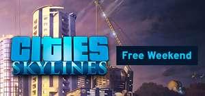 Cities Skylines Free Weekend en Sale (tot 75% korting) @ Steam