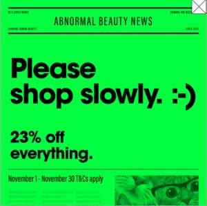 23% korting op alles van the Ordinary (en de rest van de DECIEM merken)