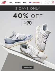 40% Korting New Balance X-90