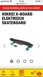 Nikkei elektrisch skateboard