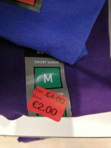 Heren shirts (korte mouw) strak model Primark Arnhem 50% korting