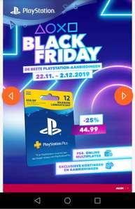 12 maanden Playstation plus voor €44,99