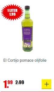 1 liter pomace olijfolie voor €1,99. Vanaf zondag bij Dirk