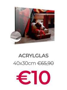 Black Friday deal: print op acrylglas va €10 @ Beste Canvas