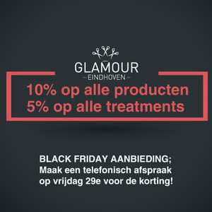 [Eindhoven] 10% bij Glamour voor BF
