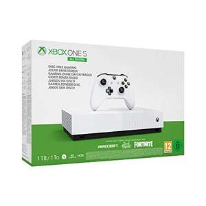 Xbox One S console (1 TB) All-Digital + Sea of Thieves + Minecraft + Fortnite met 2.000 V-bucks