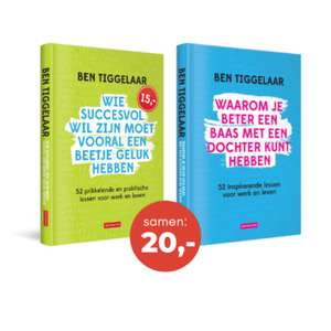 2 Ben Tiggelaar boeken voor 20,- @tiggelaar.nl