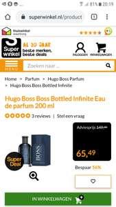 Hugo Boss Infinite