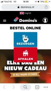 Dagdeal Domino's —> Gratis Cheesy Bread bij 2 pizza's