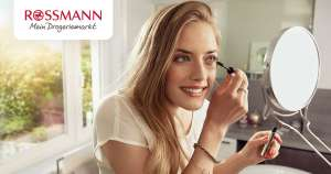 Grensdeals Rossmann: 10% korting op alles, alle make-up van Maybelline en L'oreal 20% korting, Fa deo €0,77, Batiste 20% korting etc.