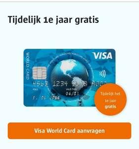 [gratis] Visa World Card: 1e jaar gratis Creditcard ICS