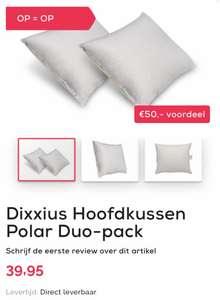2x Swiss Sense Polar Hoofdkussens voor €29,95